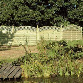 Wooden Fencing in Bebington