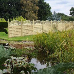 Garden Fencing in Bromborough